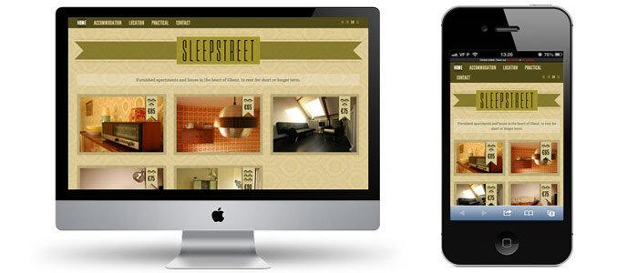 responsive design sleepstreet