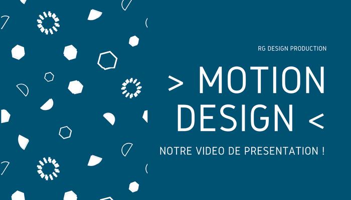 Découvrez RG Design en vidéo motion design !