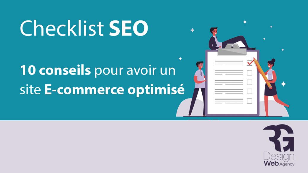 Checklist SEO : Comment avoir un site E-commerce optimisé ? 10 astuces