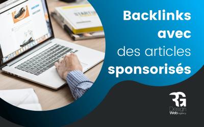 Générer des backlinks avec des articles sponsorisés