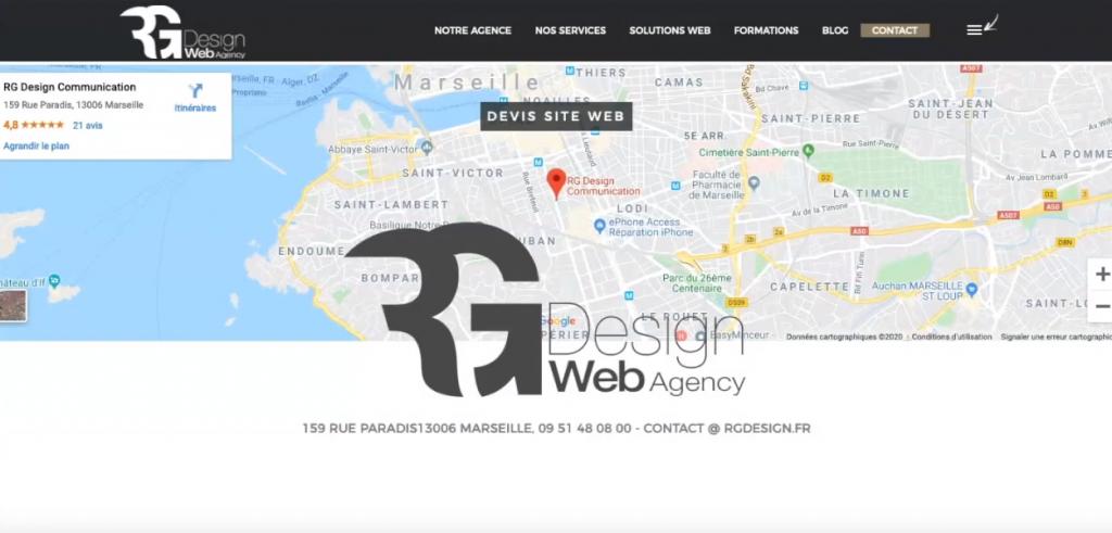 intégrer google maps sur son site